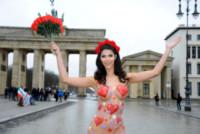 Micaela Schaefer - Berlino - 09-02-2015 - San Valentino si fa hot con Micaela Schaefer