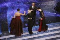 Rocio Munoz Morales, Arisa, Carlo Conti, Emma Marrone - Sanremo - 10-02-2015 - Chi lo indossa meglio? Rocio Munoz Morales e Paloma Faith