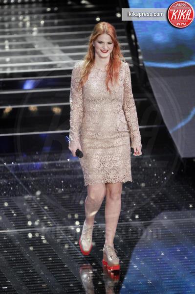 Chiara Galiazzo - Sanremo - 14-02-2015 - Per essere chic, basta un velo di cipria… indosso!