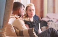 Margot Robbie, Will Smith - Sanremo - 14-02-2015 - Sanremo: Will Smith e Margot Robbie se la spassano