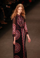 Modella - New York - 19-02-2015 - New York Fashion Week: la sfilata Anna Sui
