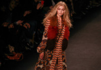 Gigi Hadid - New York - 19-02-2015 - New York Fashion Week: la sfilata Anna Sui
