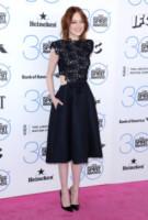 Emma Stone - Santa Monica - 21-02-2015 - Pizzo nero, un classico sul tappeto rosso