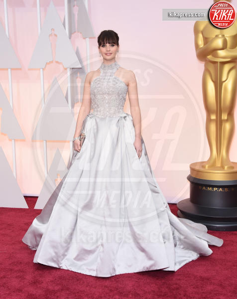 Felicity Jones - Hollywood - 22-02-2015 - Oscar 2015: le più eleganti sul red carpet