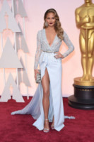 Chrissy Teigen - Hollywood - 23-02-2015 - Forbes: cade l'impero di Gisele, la modella più pagata è lei!