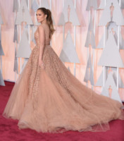 Jennifer Lopez - Hollywood - 23-02-2015 - Oscar 2015: le più eleganti sul red carpet