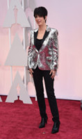 Diane Warren - Hollywood - 22-02-2015 - Oscar 2015: quanti passi falsi sul red carpet!