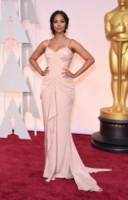 Zoe Saldana - Hollywood - 22-02-2015 - Oscar 2015: le più eleganti sul red carpet