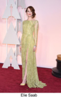 Emma Stone - Hollywood - 22-02-2015 - Oscar 2015: tutti gli stilisti sul red carpet