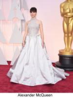 Felicity Jones - Hollywood - 22-02-2015 - Oscar 2015: tutti gli stilisti sul red carpet