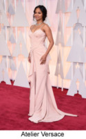 Zoe Saldana - Hollywood - 22-02-2015 - Oscar 2015: tutti gli stilisti sul red carpet