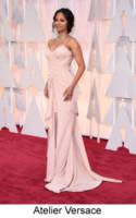 Zoe Saldana - Hollywood - 22-02-2015 - Oscar 2015: tutti gli stilisti sul red carpet