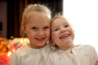 Alex Simmonds, Amy Ewing - Harrogate - 01-01-2009 - Un matrimonio da record… di damigelle!