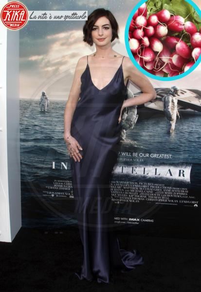 Rapanelli, Anne Hathaway - Los Angeles - 26-10-2014 - Vuoi essere in forma come Beyonce? Ecco il suo segreto