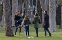 Orlando Accorsi, Athena Accorsi, Bianca Vitali, Stefano Accorsi - Roma - 28-02-2015 - Stefano Accorsi di nuovo papà: è nato Lorenzo!