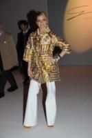 Justine Mattera - Milano - 25-02-2015 - Corsi e ricorsi fashion: dagli anni '70 ecco i pantaloni a zampa