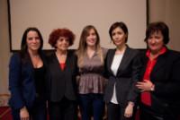 Valeria Fedeli, Maria Elena Boschi, Mara Carfagna - Roma - 03-03-2015 - Carfagna-Boschi: il fascino femminile non ha bandiera