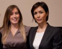Maria Elena Boschi, Mara Carfagna - Roma - 03-03-2015 - Carfagna-Boschi: il fascino femminile non ha bandiera