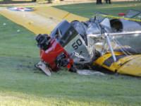 Aereo Harrison Ford - Los Angeles - 05-03-2015 - Harrison Ford, nuovo incidente aereo: poteva essere un disastro
