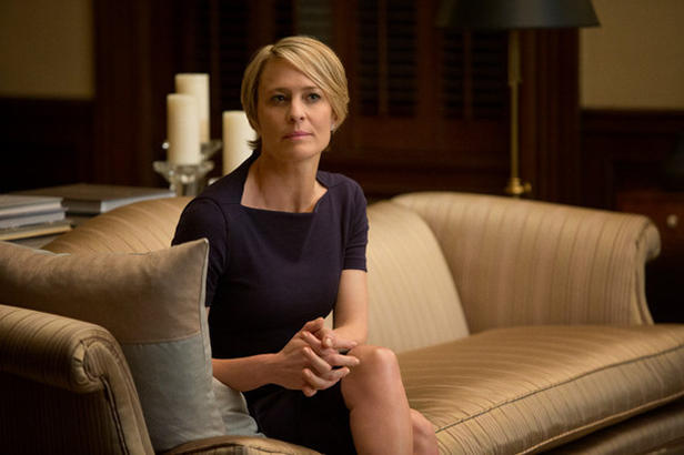 House of cards, Robin Wright - Claire Underwood - Washington - 23-08-2016 - House of Cards, prolungato lo stop delle riprese