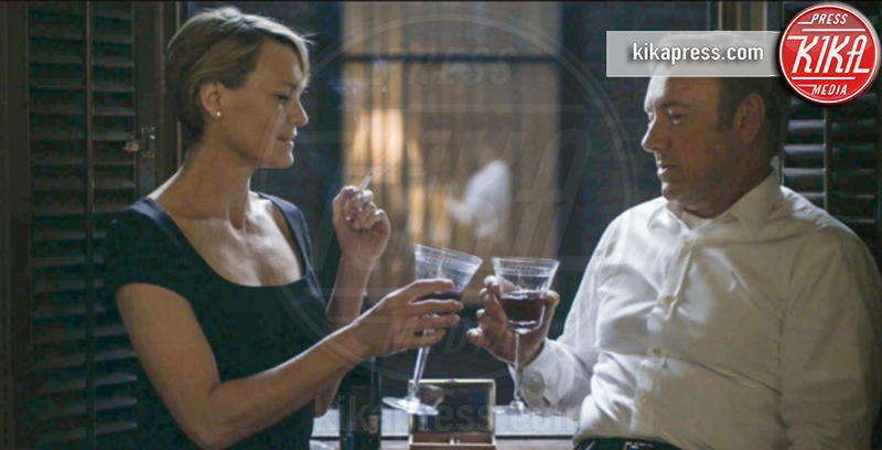 House of cards, Robin Wright, Kevin Spacey - Claire Underwood - Washington - 06-03-2015 - La sesta stagione di House of Cards sarà l'ultima
