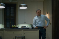 House of cards, Robin Wright, Kevin Spacey - Washington - 06-03-2015 - House of Cards, prolungato lo stop delle riprese