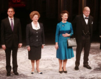 Judith Ivey, Rufus Wright, Dakin Matthews, Helen Mirren - New York - 09-03-2015 - Helen Mirren è ancora la regina Elisabetta II in The Audience