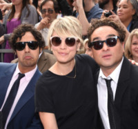 Kunal Nayyar, Johnny Galecki, Kaley Cuoco - Hollywood - 11-03-2015 - The Big Bang Theory, la decima stagione potrebbe essere l'ultima