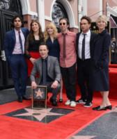 Melissa Rauch, Simon Helberg, Kunal Nayyar, Jim Parsons, Johnny Galecki, Mayim Bialik, Kaley Cuoco - Hollywood - 11-03-2015 - The Big Bang Theory, la decima stagione potrebbe essere l'ultima