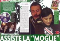 Eugenio Zoffili, Giulia Martinelli - Milano - 12-03-2015 - Eugenio Zoffili: la serpe in seno a Matteo Salvini