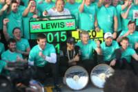 Dr. Thomas WEBER, Toto Wolff, Nico Rosberg, Lewis Hamilton - Melbourne - 15-03-2015 - F1: Hamilton e Rosberg trionfano in Australia, Vettel terzo