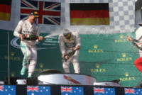 Nico Rosberg, Lewis Hamilton - Melbourne - 15-03-2015 - F1: Hamilton e Rosberg trionfano in Australia, Vettel terzo