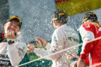 Nico Rosberg, Sebastian Vettel, Lewis Hamilton - Melbourne - 15-03-2015 - F1: Hamilton e Rosberg trionfano in Australia, Vettel terzo