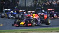 Daniel Ricciardo - Melbourne - 15-03-2015 - F1: Hamilton e Rosberg trionfano in Australia, Vettel terzo