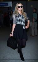 Paris Hilton - Los Angeles - 16-03-2015 - In carrozza! Anche il viaggio ha il suo dress code