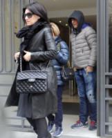 Gianna Ballardini, Paolo Carta, Laura Pausini - Madrid - 15-03-2015 - La piccola Paola Carta è l'amore dei nonni