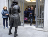 Fabrizio Pausini, Gianna Ballardini, Paola Carta, Paolo Carta, Laura Pausini - Madrid - 15-03-2015 - La piccola Paola Carta è l'amore dei nonni