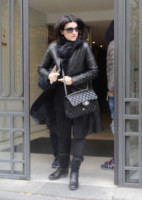 Laura Pausini - Madrid - 15-03-2015 - La piccola Paola Carta è l'amore dei nonni