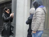 Fabrizio Pausini, Paolo Carta, Laura Pausini - Madrid - 15-03-2015 - La piccola Paola Carta è l'amore dei nonni