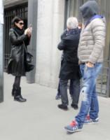 Fabrizio Pausini, Gianna Ballardini, Paolo Carta, Laura Pausini - Madrid - 15-03-2015 - La piccola Paola Carta è l'amore dei nonni