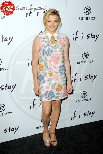 Chloe Grace Moretz - Manhattan - 18-08-2014 - Mini o longuette, ma pieno di fiori: è l'abito della primavera!