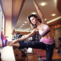Martina Colombari - Milano - 18-03-2015 - Tuta, leggings, top crop: scegli lo stile fitness che fa per te!