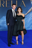 Jenna Coleman, Richard Madden - Londra - 19-03-2015 - Dustin Hoffman presto in tv in Medici: Masters of Florence