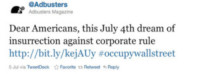 Twitter Occupy Wall Street - 21-03-2015 - Buon compleanno Twitter! Compie nove primavere!