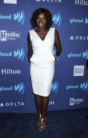 Viola Davis - Beverly Hills - 21-03-2015 - In primavera ed estate, le celebrity vanno in bianco!