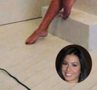 Elisabetta Gregoraci - Milano - 22-03-2015 - A piedi nudi da te: le star mostrano i loro piedini