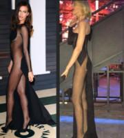 Alessia Marcuzzi, Irina Shayk - 24-03-2015 - Alessia Marcuzzi: sotto il vestito – e l'Isola – niente!