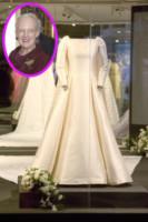 Abito da sposa, Regina Margherita di Danimarca - Copenhagen - 25-03-2015 - In mostra gli abiti della regina Margherita di Danimarca