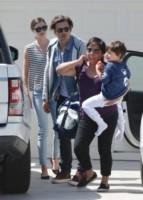 Flynn Bloom, Miranda Kerr, Orlando Bloom - Malibu - 28-03-2015 - Ti lascio, ma non ti odio: la famiglia allargata fa tendenza