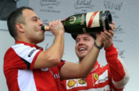 Sebastian Vettel - Sepang - 29-03-2015 - Gp Qatar: Sebastian Vettel riporta alla vittoria la Ferrari